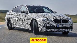 Download 2018 BMW M5 prototype review | Autocar Video