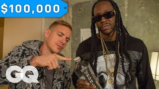 Download 2 Chainz & Diplo Try $100K Bottled Water | Most Expensivest Sh*t | GQ Video