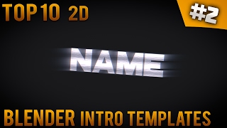 Download TOP 10 Blender 2D Intro templates #2 (Free download) - IntroFactory Video