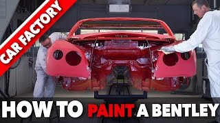 Download Bentley PAINT SHOP - HOW TO Paint a Luxury CAR - HOW IT'S MADE Assembly Line Video