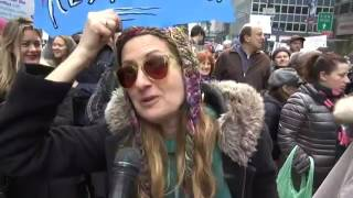 Download Women Decry Trump at NYC Protest Video