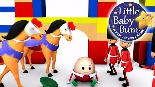 Download Humpty Dumpty | Part 1 | Nursery Rhymes | By LittleBabyBum! | ABCs and 123s Video