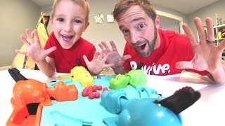 Download Father & Son PLAY HUNGRY HUNGRY HIPPO! Video