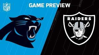 Download Panthers vs. Raiders (Week 12 Preview) | NFL Now Video