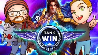 Download RANK WIN RETURNS! | MFPallytime & Mewnfare | TGN Squadron Heroes of the Storm Ranked Gameplay Video