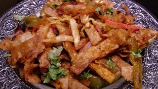 Download Chapati Noodles - Quick and Easy Recipe Video