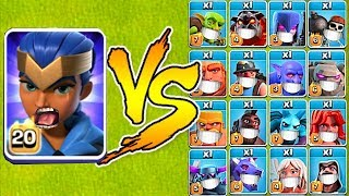 Download MAX LVL ROYAL CHAMPION vs. EVERYONE!! ″Clash Of Clans″ TH13 UPDATE!! Video