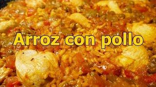 Download receta ARROZ CON POLLO ESPAÑOL - recetas de cocina faciles rapidas y economicas - comidas ricas Video
