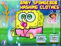 Download Nick Jr Spongebob Games - Spongebob Washing Clothes Game Video