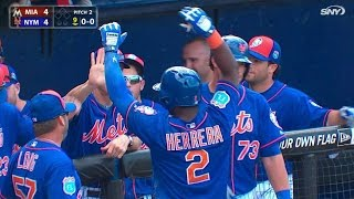 Download MIA@NYM: Herrera ties game with inside-the-park homer Video