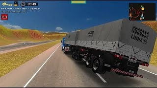 Download Grand Truck Simulator - Quebra da asa - Scania 113H + Randon bitrem Video