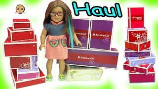 Download Giant Sale Haul - American Girl Doll Clothing, Pets, Food + More - Toy Video Video