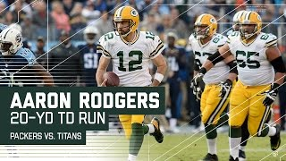 Download Aaron Rodgers' Huge 4th Down Conversion & TD Run! | Packers vs. Titans | NFL Video