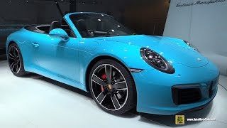 Download 2017 Porsche 911 Carrera S Convertible - Exterior, Interior Walkaround - 2015 Frankfurt Motor Show Video