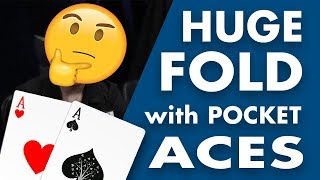 Download Alec Torelli Makes HUGE Fold with POCKET ACES on Poker Night in America Video