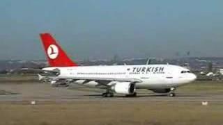 Download Türk Hava Yolları Paris Orly Kalkış Video