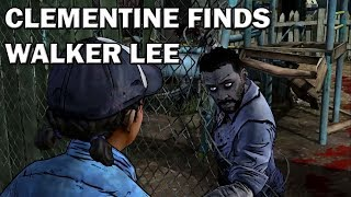 Download Walking Dead - Clementine finds Walker Lee [Model Swap] Video
