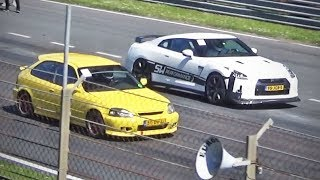 Download Turbo Civic -vs- 1000hp GT-R & more! Video