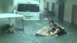 Download A look inside super Typhoon Haiyan Video