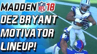 Download DEZ BRYANT MOTIVATOR IS A CHEATCODE! - Madden 18 Ultimate Team Video