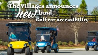 Download Vmail - The Villages Announces New Land, Golf Car Accessibility for Entire Community Video