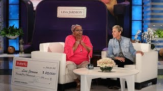 Download Ellen Pays Tribute to Beloved Guest Lisa Jarmon - EXTENDED VERSION Video