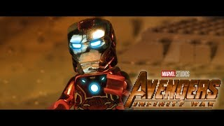 Download AVENGERS: Infinity War Official Trailer in LEGO! Video