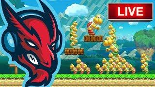 Download Super Mario Maker // Luigi's Balloon World [LIVE] Video