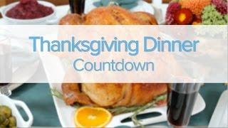 Download Thanksgiving Dinner Countdown Video