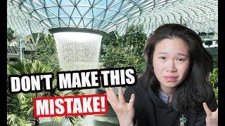Download My HUGE mistake at JEWEL CHANGI | Exploring SINGAPORE'S CHANGI AIRPORT TERMINALS 2019 Video