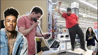 Download BLASTING ″SLIDE″ IN PUBLIC! (French Montana, BlueFace, Lil Tjay) Video