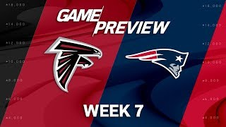 Download Atlanta Falcons vs. New England Patriots | Week 7 Game Preview | Move the Sticks Video