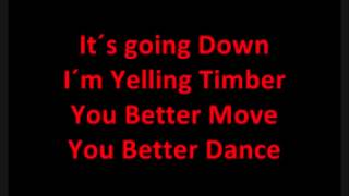 Download Timber full song and lyrics Video