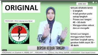 Download CUCI TANGAN 6 LANGKAH Hand Wash PDUI Cabang Jabar 2017 Video
