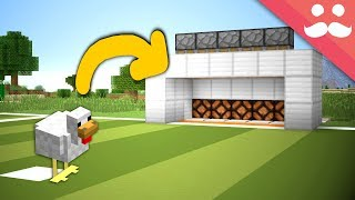 Download Making a CHICKEN PENALTY SHOOTOUT for Survival Minecraft! Video