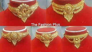 Download Latest Gold Choker designs with weight under 15 to 25 Gram Video
