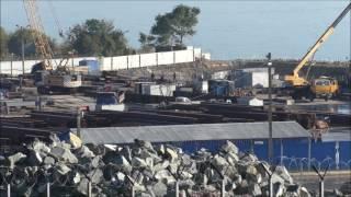 Download Строительство Керченского моста (октябрь, 2016). Video