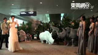 Download 「長腳蟹」大婚 恨嫁姚子羚狼搶花球 Video