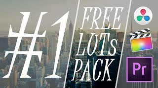 Download Free LUTs Pack #1 - Light Correction, Saturation & More Video