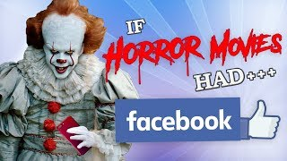 Download IF HORROR MOVIES HAD FACEBOOK Video