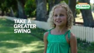 Download Take a Greater Swing with Children's FLONASE Allergy Relief Video