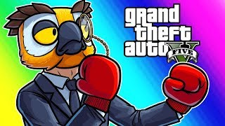 Download GTA5 Online Funny Moments - Vehicle Avalanche and the Gentleman's Fight! Video