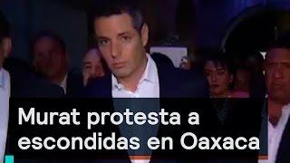 Download Denise Maerker 10 en punto - Oaxaca: Murat protesta a escondidas en Oaxaca Video