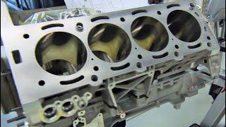 Download Mercedes Benz AMG 63 V8 Engine Production Video