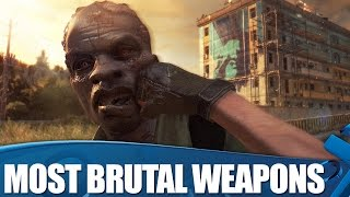 Download Dying Light: 8 weapons that make it the most brutal zombie killer on PS4 Video