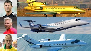 Download Most Expensive & Luxurious Private Jet Of Football Players Video