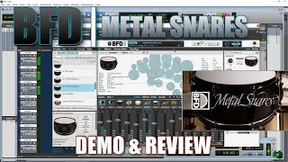 Download BFD METAL SNARES - DEMO & REVIEW Video