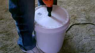 Download Human Powered ″Washing Machine″ DIY - The ″5 gallon bucket″ clothes washer Video