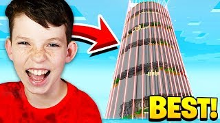 Download THE WORLDS LARGEST Minecraft PARKOUR TOWER with MY LITTLE BROTHER! Video