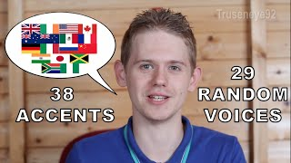 Download The English Language in 67 Accents & Random Voices Video